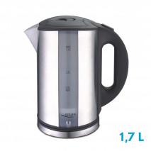 Hervidor De Agua Elect.familiar Inox. 1,7l  2000w C/filtro Y Apagado Automatico