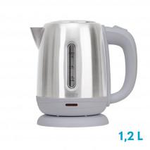 Hervidor De Agua Elect.clasico Acero Inox 1,2l   1630w C/filtro Y Apagado Automatico