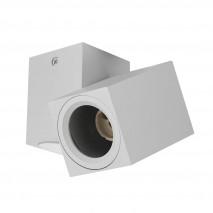 Foco Nerja 1xgu10 Blanco 10,4x12,3x6 Cm Orientable 360º