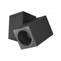 Foco Nerja 1xgu10 Negro 10,4x12,3x6 Cm Orientable 360º