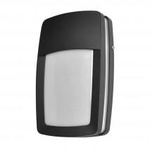 Aplique Exterior Aluminio Altair 1xe27 Negro Ip44 8,5x30x18,5 Cm