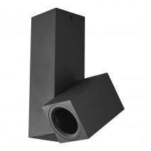 Foco Nerja 1xgu10 Negro 20x12,4x6 Cm Orientable 360º