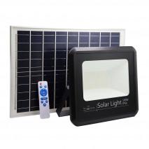 Proyector Solar Malaquita 100w 6500k Negro 9000lm (28,5x32x8)(53x35x2)cm Mando Y Cable 5m
