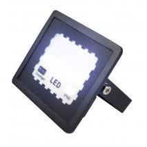 Proyector Zircon 10w 6500k Negro 1000lm  120º 10x8x2,3 Cm IP66