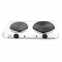 Cocina Electrica 2500w 2 Quemadores Placas 155mm Y 185mm Control De Temperatura