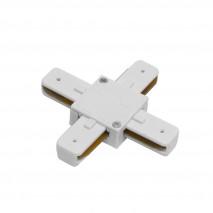 Conector En X Pindal Blanco 2 Hilos 9,5x9,5x1,5 Cm