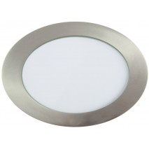 Downlight Led Redondo Serie Apolo 12w 990lm Niquel 6500k 17d