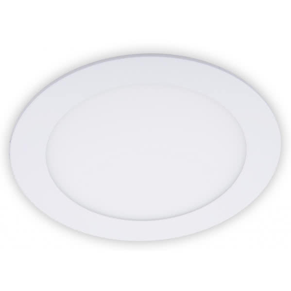 Downlight Led Redondo Serie Apolo 18w 1400lm Blanco 6500k 22d