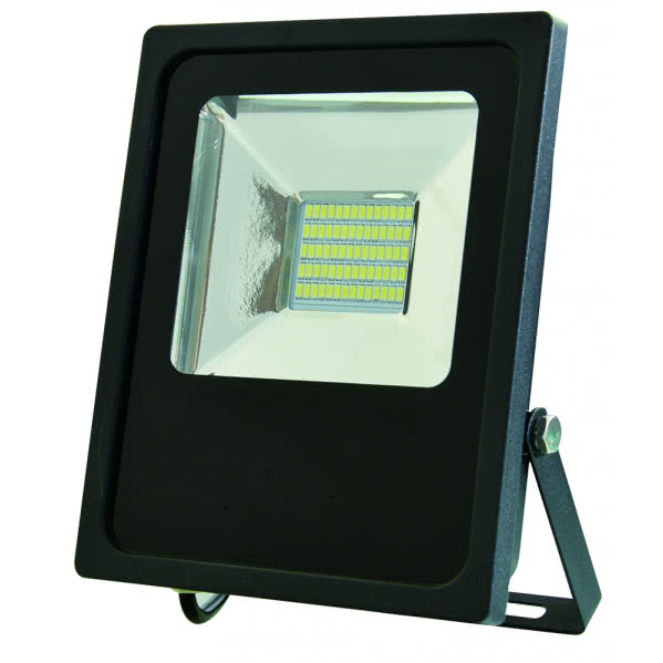Proyector Led Smd Serie Quiron 30w 2700lm 120º 6500k (23x23x5)