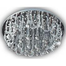 Plafon Serie Estambul Cristal 19xg4 139ledx0.06w Contr. Remoto(27x60)
