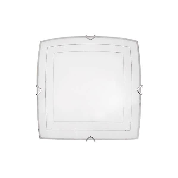 Plafon Serie Fenicia Blanco 2xe27 (30x30)