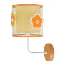 Aplique Infantil Serie Flor Naranja 1xe14 (28x19)