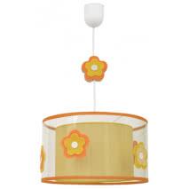 Colgante Infantil Serie Flor Naranja 1xe27 (regx30)