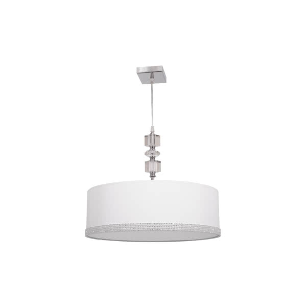 Colgante 45 D Serie Myconos Blanco 2xe27 (regx45d)