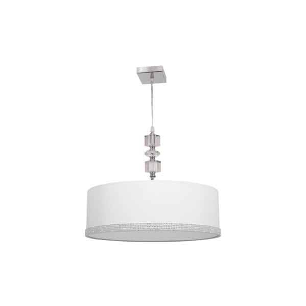 Colgante 60 D Serie Myconos Blanco 2xe27 (regx60d)