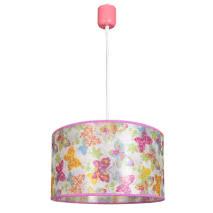 Colgante Infantil Serie Papillon Rosa 1xe27 (regx30d)