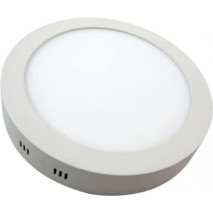 Downlight Sup. Red. 18w 6500k Aquiles Led Blanco 1425 Lm 22,5dx4h