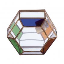 Plafon Granadino Colores 1xe27 24x26