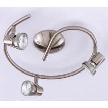 Lamp.espiral De 3lxgu10 50w Niquel 11x30