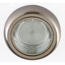 Downlight Sup. Redondo Niquel 2xe27 27d