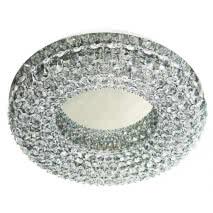 Plafon Serie Corona Cristal 8xg9 15x40d