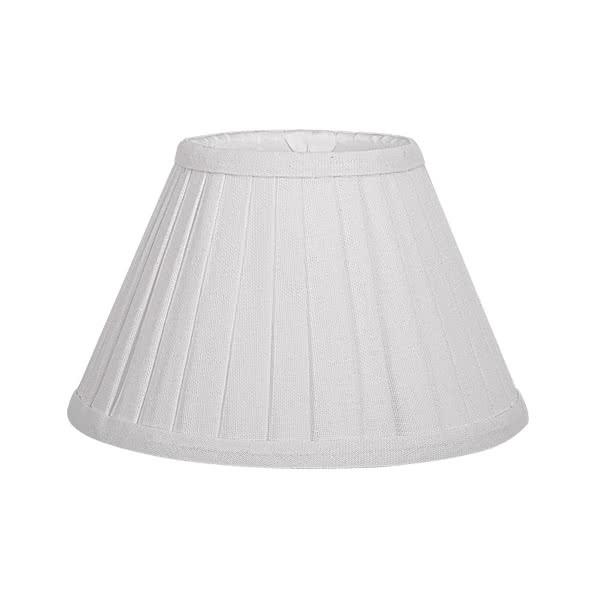 Pantalla Conica Plisada Serie Gracia E27 Beis (30x15x20)