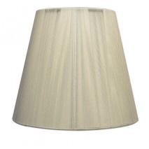 Pantalla Conica Hilo Indira E27 Beis (40x20x26)