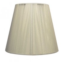 Pantalla Conica Hilo Serie Indira E27 Beis (45x23x29)