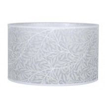 Pantalla Cilindrica Serie Judit E27 Hoja Blanca 14x16 D