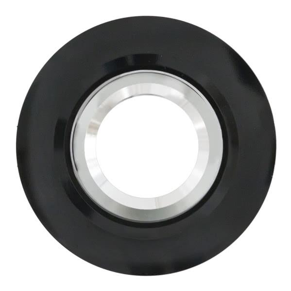 Empotrable Galatea Negro Gu10 10d