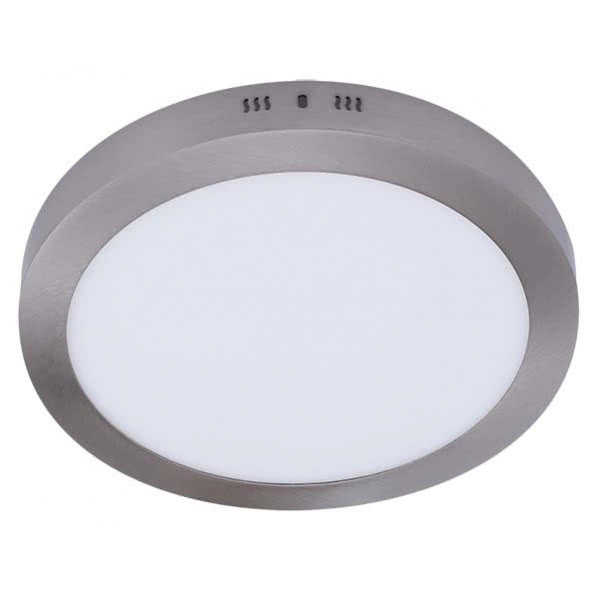 Downlight Sup.red.aquiles Led 12w Niquel 950lm 17,3dx4h 4000k
