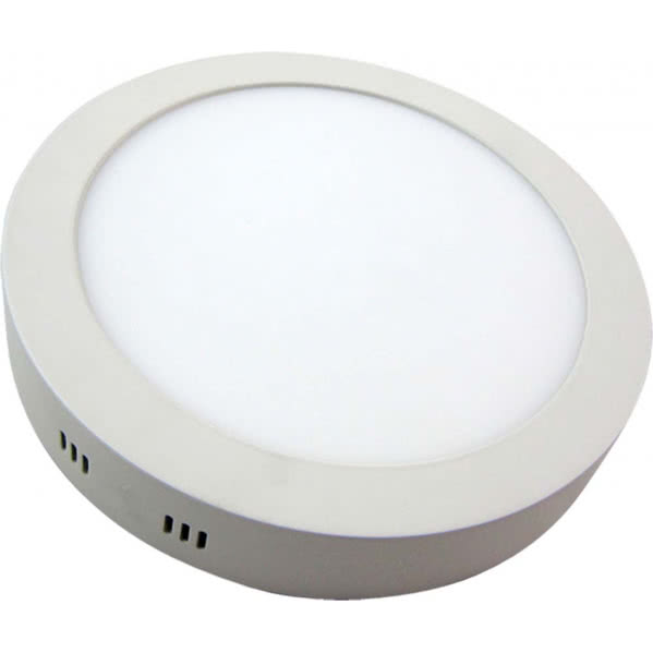 Downlight Sup.red. Aquiles Led 24w Blanco 1800lm 30dx4h 4000k