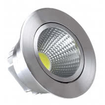Empotrable Niquel Serie  Wolf Led 7w 630lm 4000k
