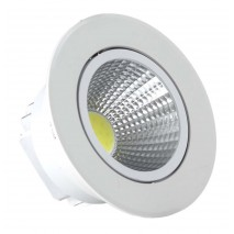 Empotrable Blanco Serie  Wolf Led 7w 630lm 4000k