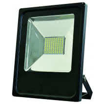 "Proyector 50w 6500k Con Sensor Led Smd Quiron  35"" 12m Alcance 4000lm 120º (28,5x27,5x5)"