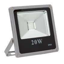 Proyector 20w Rgb Led Smd Goliat 1400lm 120º (18 X 18 X 4) Control Remoto