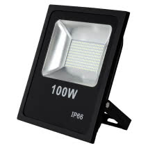 Proyector 100w 3000k Led Smd Quiron 7500lm 120º 30x35x6,5