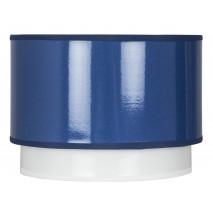 Pantalla Doble Lampara Serie Iris Azul E14 16 D.
