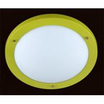 Plafon Redondo 40 Verde/acido 3xe-27