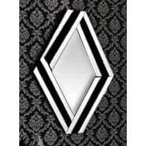 Espejo Rombo 68x98x1.9 Cm
