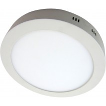 Downlight Sup. Red. 18w 6500k Carlomagno Led Blanco 1300lm