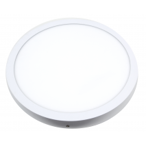 Downlight Sup. Red. 28w 4000k Aquiles Led Blanco  40d 1960lm