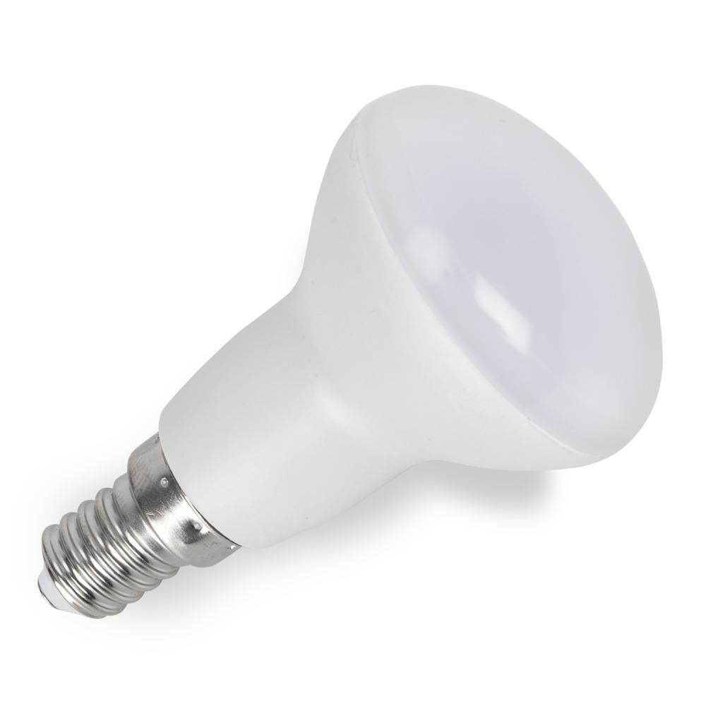 Bombilla 10w 4000k reflectora e14 1000lm 8x5d fabrilamp for Bombillas led g9 10w