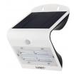 Aplique Solar 3,2w 4000k+6000k Solaris Blanc 400lm Ip65 Carga Solar Sensor Movil Y Luminic