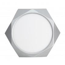 Plafon 18w 4000k Plata Diamond 1440lm 26d