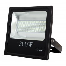 Proyector 200w 6500k Led Smd Quiron 16000lm 120º 35,5x35,5x8
